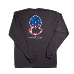 Patriotic Helmet Long Sleeve Tee