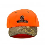 Blaze Orange Camo Bill Cap