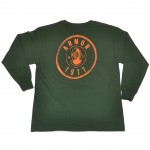 Youth- Boys Armor Circle Logo Long Sleeve Tee