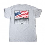 Tradition, Family & Faith Pocket Tee- American Flag